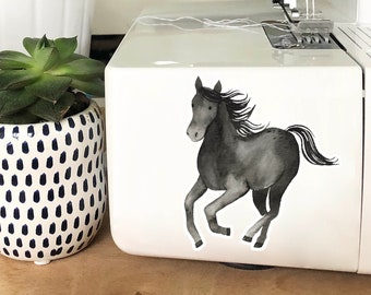 Vinyl Sticker - Black Horse