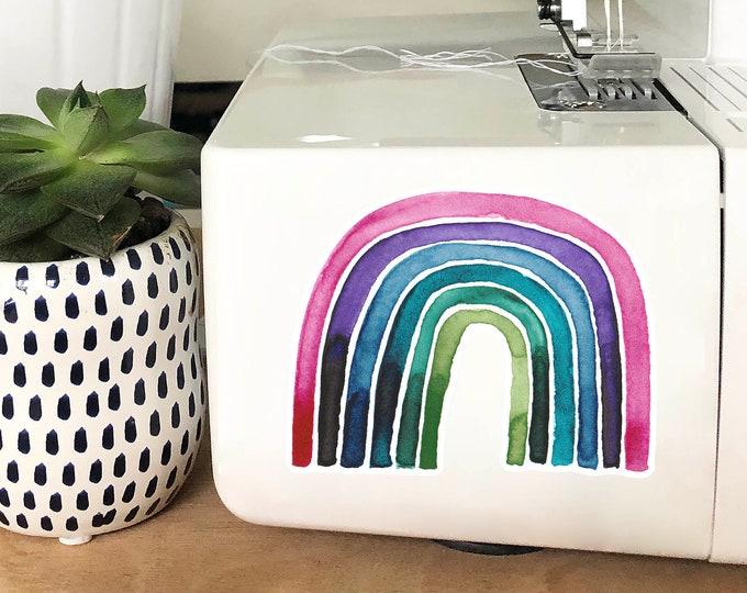 Vinyl Sticker - Pink Rainbow