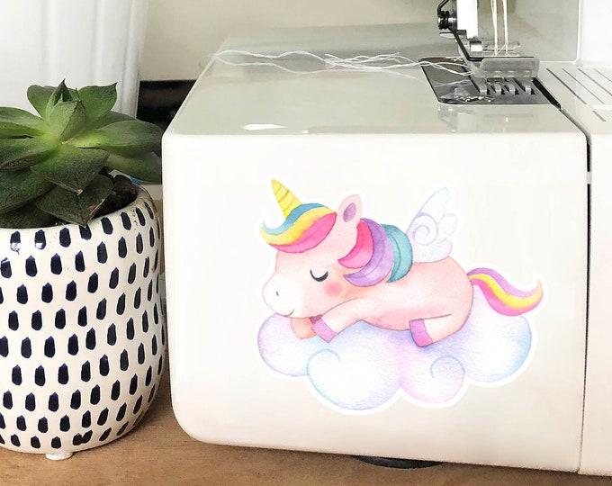Vinyl Sticker - Sleepy Unicorn