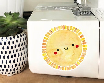 Vinyl Sticker - Happy Sun