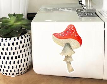 Vinyl Sticker - Red Mushroom
