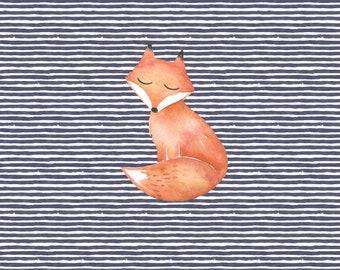 PREORDER - RAPPORT - Fox - Organic Cotton/spandex European Jersey Knit