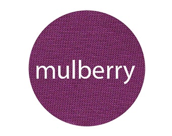 Mulberry - Organic Euro Knit Solids