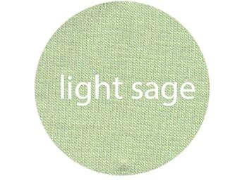 Light Sage - Organic Euro Knit Solids