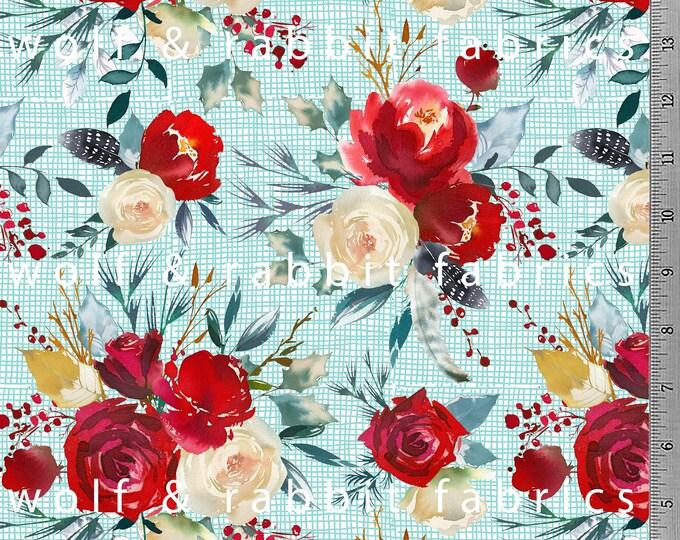 Scandi Floral - Organic Euro Knit