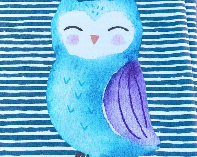 RAPPORT - Owl - Organic Cotton/spandex European Jersey Knit