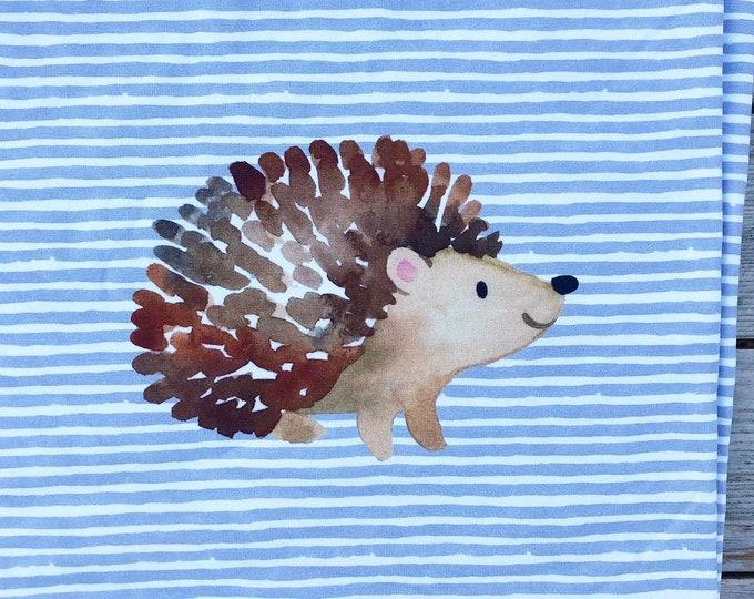PREORDER - RAPPORT - Hedgehog - Organic Cotton/spandex European Jersey Knit