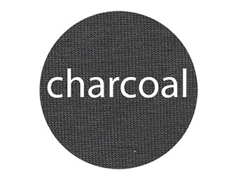 Charcoal - Organic Euro Knit Solids