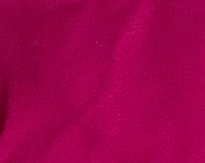 Magenta - 10oz cotton/lycra knit fabric - 95/5 cotton/spandex jersey knit - By The Yard