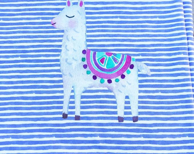 RAPPORT - Llama - Organic Cotton/spandex European Jersey Knit