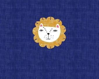 PANEL - Lion - Organic Cotton/spandex European Jersey Knit