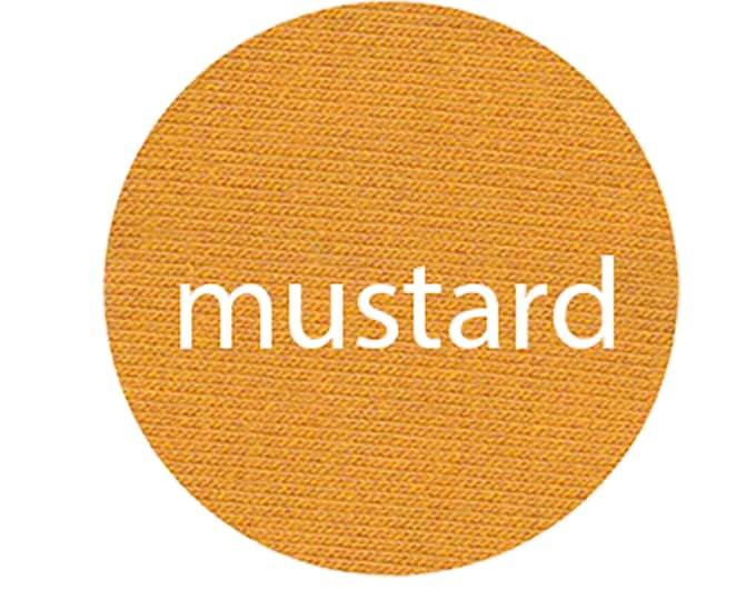 Mustard - Organic Euro Knit Solids