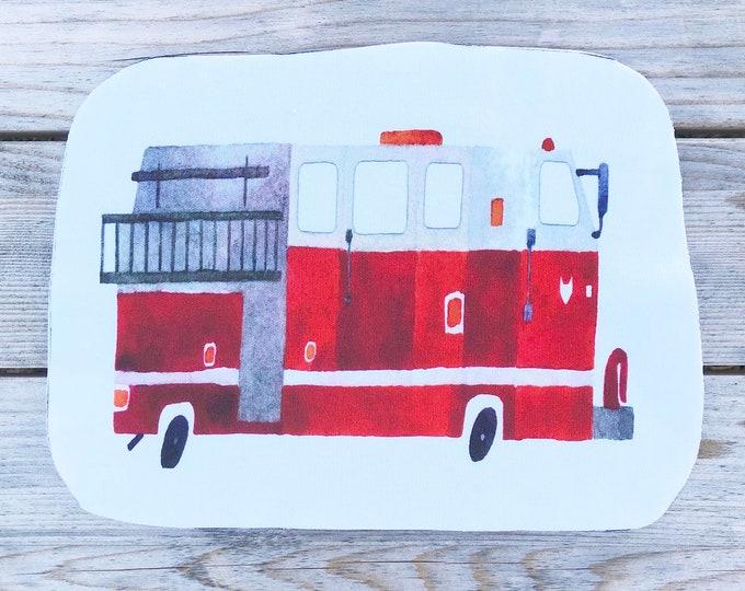 Firetruck - Sew & Stuff Plushies