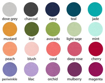 ORGANIC Euro Knit Solids