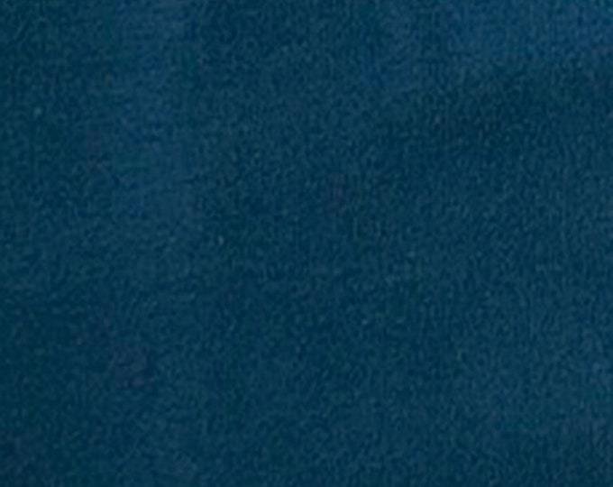 Teal - 10oz cotton/lycra knit fabric - 95/5 cotton/spandex jersey knit - By The Yard