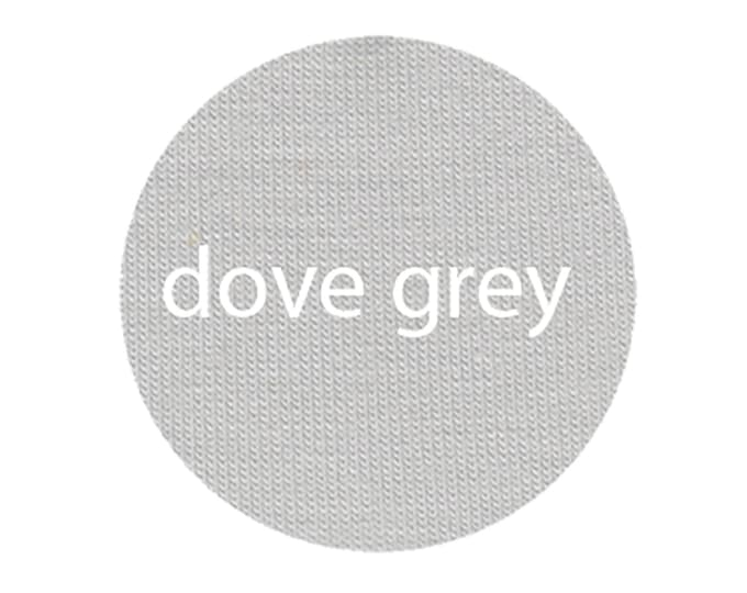 Dove Grey - Organic Euro Knit Solids