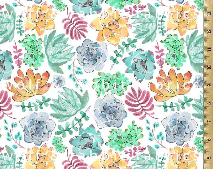 SALE - Succulent Fabric