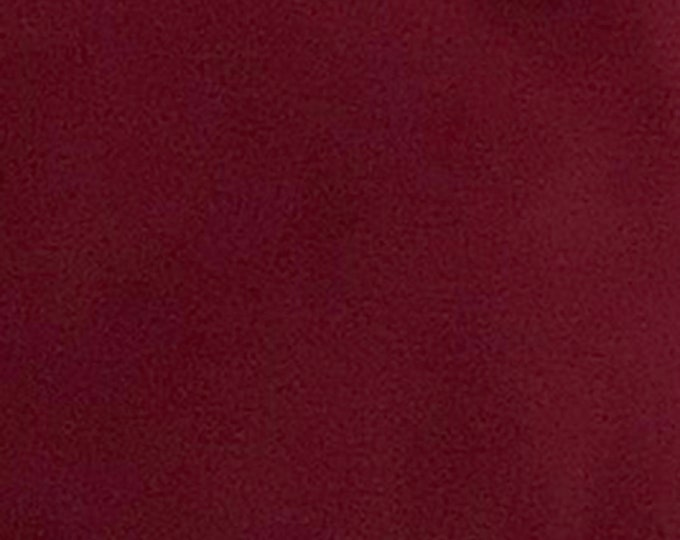 Burgundy - 10oz cotton/lycra knit fabric - 95/5 cotton/spandex jersey knit - By The Yard