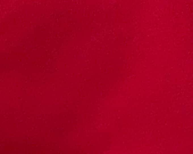 Cherry Red - 10oz cotton/lycra knit fabric - 95/5 cotton/spandex jersey knit - By The Yard