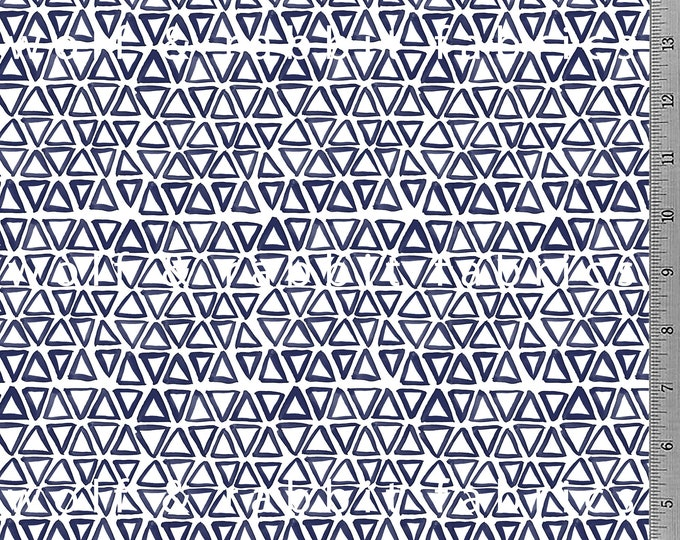 SALE - Indigo Triangles