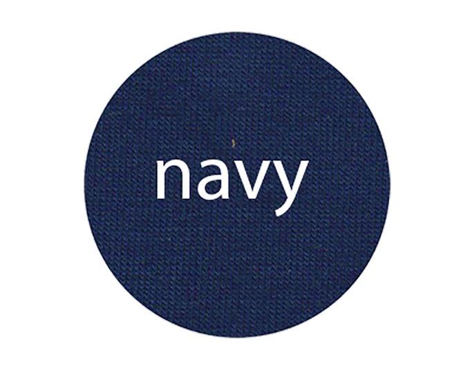 Navy - Organic Euro Knit Solids