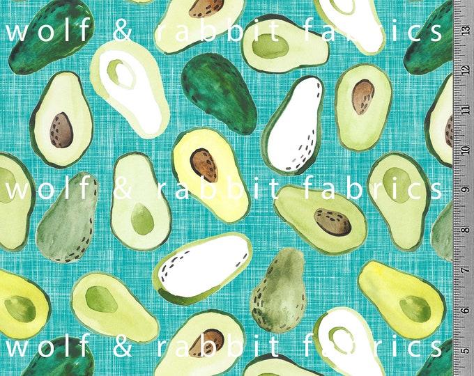 Avocado - Jade - Organic Cotton/spandex European Jersey Knit