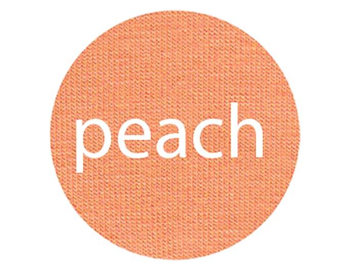 Peach - Organic Euro Knit Solids