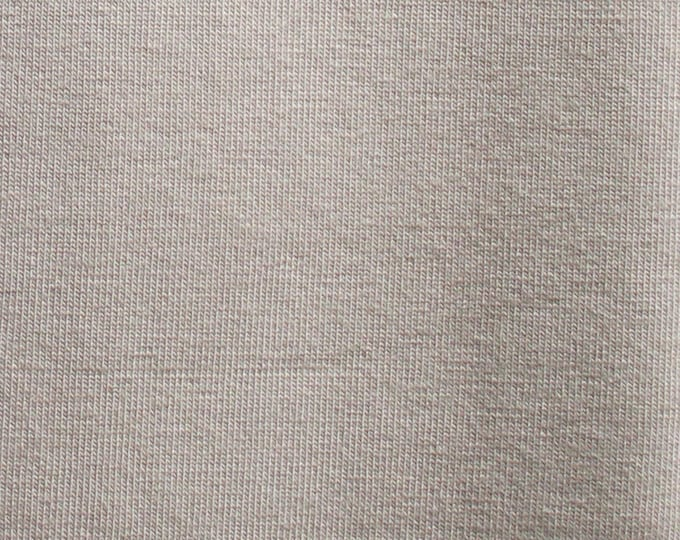 Chai Latte - 10oz cotton/lycra knit fabric - 95/5 cotton/spandex jersey knit - By The Yard