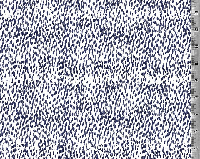 SALE - Indigo Brush Strokes