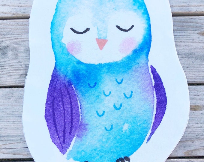 Blue Owl  - Sew & Stuff Plushies