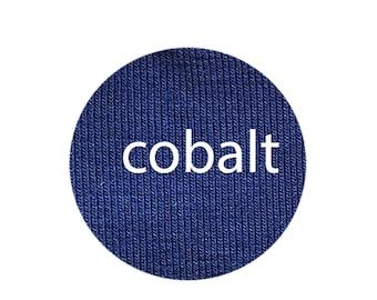 Cobalt - Organic Euro Knit Solids