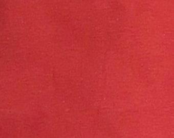 Rust Orange - 10oz cotton/lycra knit fabric - 95/5 cotton/spandex jersey knit - By The Yard