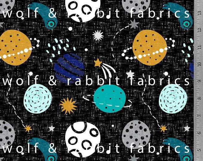 Planets - Organic Cotton/spandex European Jersey Knit