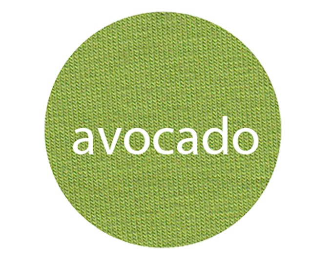 Avocado - Organic Euro Knit Solids