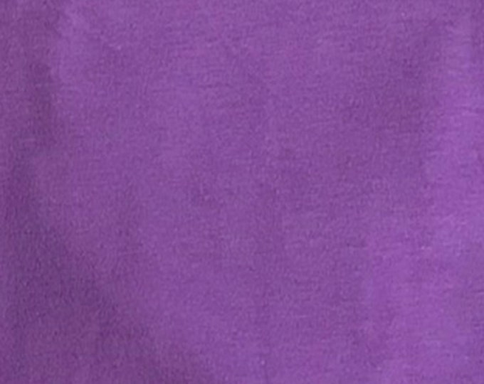 Orchid - 10oz cotton/lycra knit fabric - 95/5 cotton/spandex jersey knit - By The Yard
