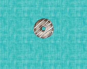 PANEL - Frosted Donut - Organic Cotton/spandex European Jersey Knit