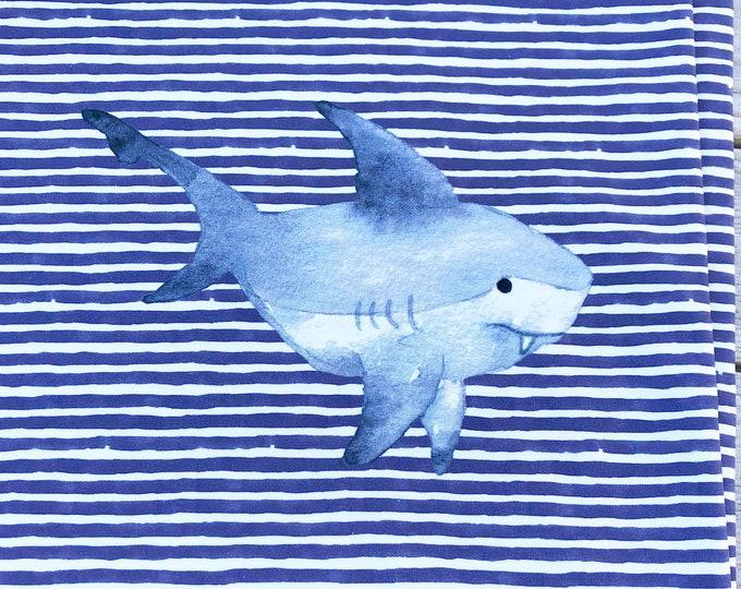 RAPPORT - Shark - Organic Cotton/spandex European Jersey Knit