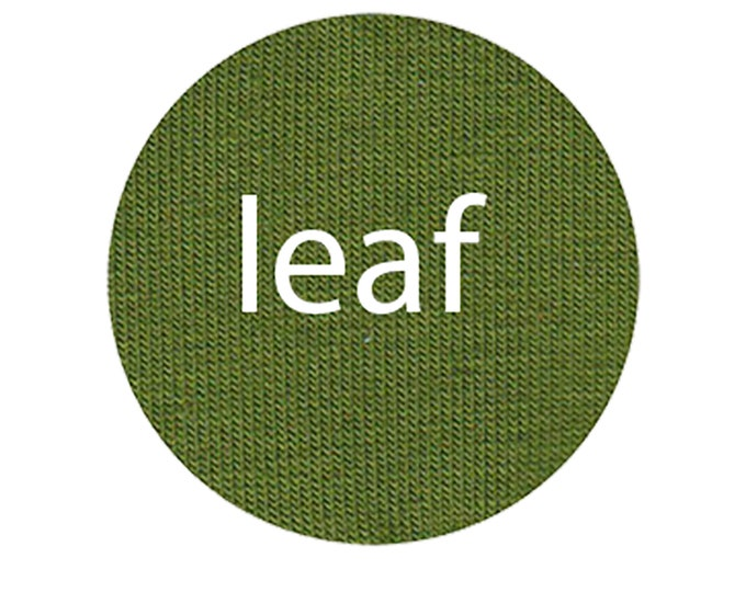 Leaf - Organic Euro Knit Solids