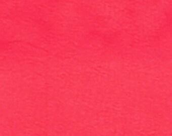 Super Coral - 10oz cotton/lycra knit fabric - 95/5 cotton/spandex jersey knit - By The Yard