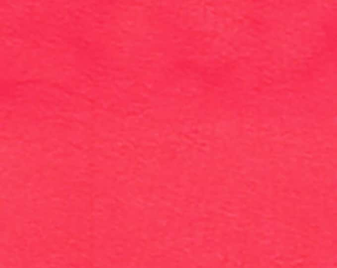 Super Coral - 10oz cotton/lycra knit fabric - 95/5 cotton/spandex jersey knit - By The Yard