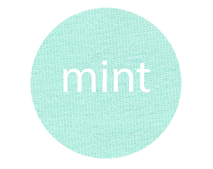 Mint - Organic Euro Knit Solids