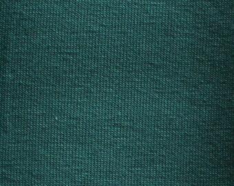 Spruce - LIMITED EDITION - 10oz cotton/lycra knit fabric - 95/5 cotton/spandex jersey knit - By The Yard