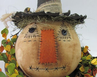 Primitive Pumpkin Pie and Pilgrim Crows Sewing Pattern ~ Country ~ Thanksgiving