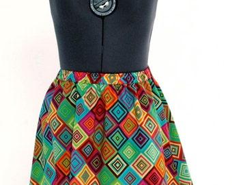 Playful Print Skirt