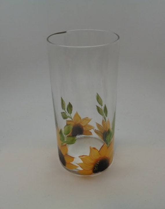 Sunflower Vase for Spring and Summer Flowers