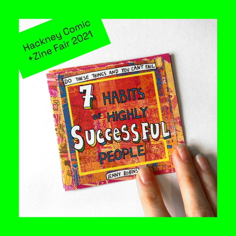 HCZF EXCLUSIVE  Luck Zine  7 Habits of Highly Successful image 0