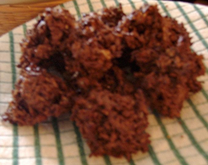 Chocolate Macaroons