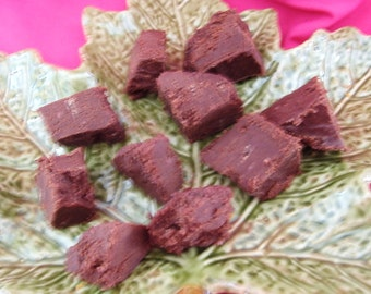 Chocolate Raspberry Truffle Fudge