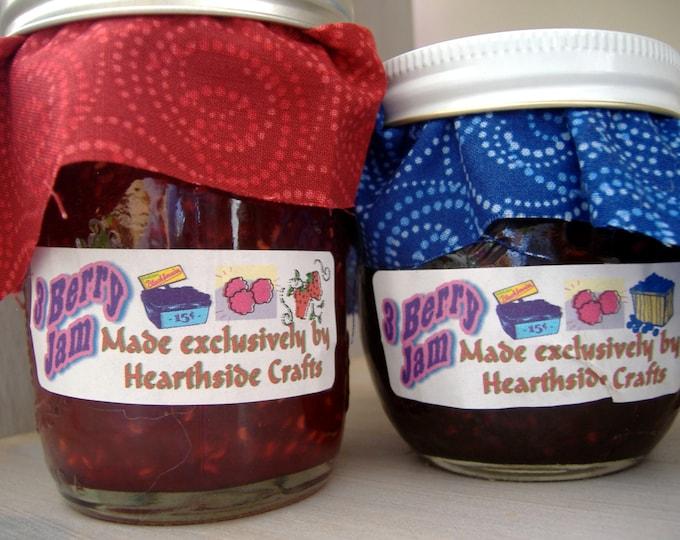 3 Berry Jam