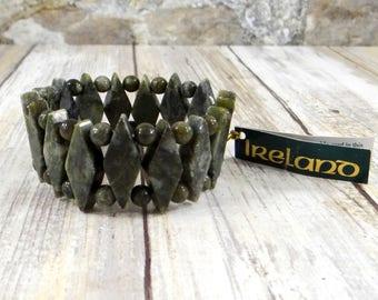 Connemara Marble Bracelet from Ireland